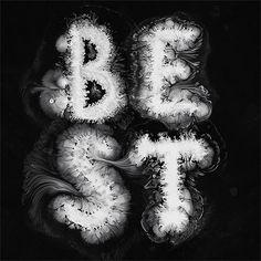 Experimental Typography by Ruslan Khasanov