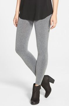 SPANX® Seamless Heathered Leggings available at #Nordstrom