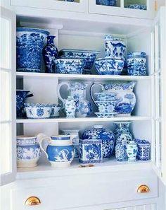 blue china.