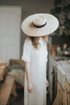 pamela blog Bride hat raffia hat bride wedding
