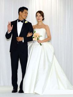Baek Ji Young and Jung Suk Won Wedding