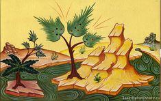 """""""Слово - изографам"""" • Просмотр темы - Вода, горки. Oriental, Literature, Nature, Landscape, Architecture, Plants, Painting, Religious Art, Scenery"""
