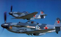 Escadrille Normandie-Niemen--Yak-3 French pilots fighting on the eastern front