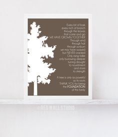 Gift for Parents Anniversary Gift - Family Tree Art Print Poem - Father of Bride Gift - Wedding Grandparent Gift Anniversary Card Sayings, Mom Dad Anniversary, Wedding Anniversary Quotes, Anniversary Gifts For Parents, Anniversary Ideas, Bride Gifts, Wedding Gifts, Wedding Things, Family Tree Art