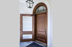 Hills Way Front Door - Lead glass in IG unit by Mark Gill Studios. Designed by Richard Hall Designs. Fabricated by Eidolon Designs Lead Glass, Pivot Doors, Hall Design, Door Ideas, Studios, The Unit, Mirror, Home Decor, Decoration Home