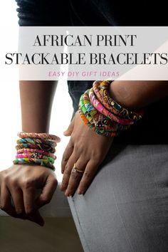 african print bracelets diy tutorial, ankara bangles, african fabric bracelets, diy fashion bracelets, fabric bracelets diy, cording and fabric bracelet diy, diy bangles, easy to make fabric bracelets