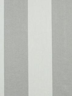 Beacon Hill - Hampton Stripe in stone  100% linen