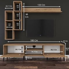 Home Remodel Living Room tv wall decor ideas for an efficient and effective tv wall installation process! Modern Tv Cabinet, Modern Tv Wall Units, Tv Unit Decor, Tv Wall Decor, Wall Tv, Tv Wall Installation, Tv Wanddekor, Living Room Tv Unit Designs, Tv Wall Unit Designs
