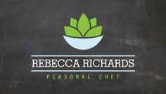 Healthy Salad Logo on Chalkboard Personal Chef Business Cards http://www.zazzle.com/healthy_salad_vegetables_catering_logo_chalkboard_double_sided_standard_business_cards_pack_of_100-240007931626514223?rf=238835258815790439&tc=GBCCooking1Pin
