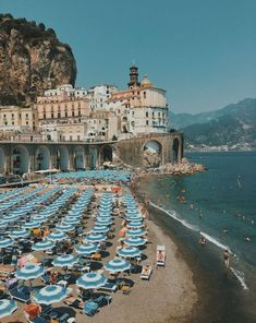 Atrani Beach Escape to the Amalfi coast beaches perfect for a vacation in Italy. With all the restaurants to see, the things to do and the amazing area of Positano nearby, it's a luxury beach vacation for relaxation and enjoyment. Beach Vacation Tips, Italy Vacation, Beach Trip, Vacation Trips, Italy Travel, Day Trips, Beach Travel, Vacation Travel, Italy Trip