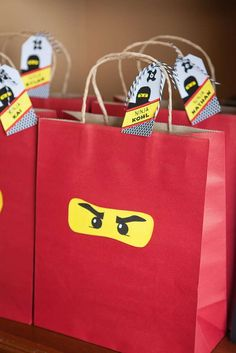 A Lego Ninjago Inspired Birthday Party | CatchMyParty.com