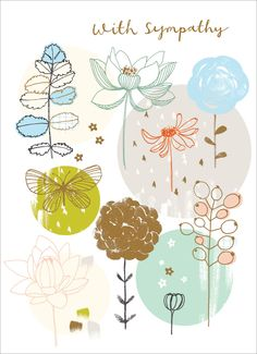 Sympathy Cards - Flora Waycott for Madison Park Greetings