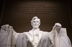 Lincoln Memorial, In The Heart, Abraham Lincoln, Washington Dc, Over The Years, Memories, Statue, Usa, Photography
