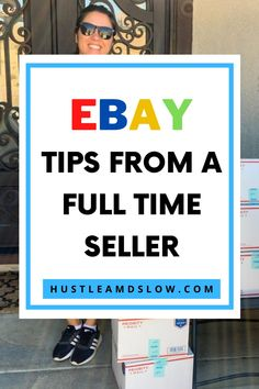 Want some ebay tips from a full time ebay seller? Here's what I learned after 3 days of serious ebay selling. #reseller #ebaytips What To Sell, How To Make Money, Selling Online, Selling On Ebay, Ebay Tips, Just Keep Going, Work From Home Moms, Business Tips, Saving Money