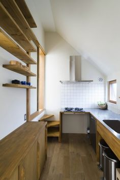 """The third floor of the kitchen.  The inside of the """"house"""" is changing the wood to be used with the """"outside"""".  Flooring the floor are also commonly used."""