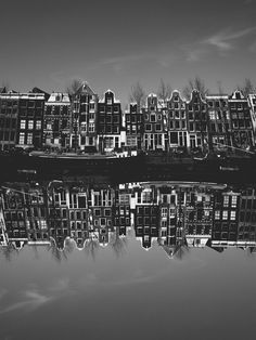 Amsterdam in black & white