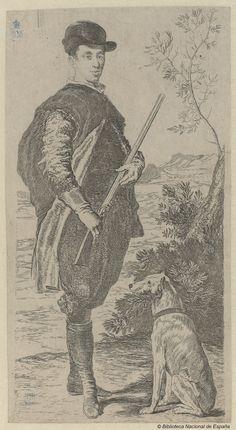 Francisco Goya after Velasquez. Un infante de España | by Biblioteca Nacional de España
