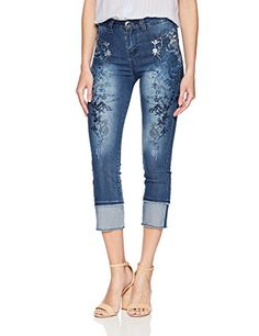 Desigual Women's Karen Embroidered Detail Denim Trousers,... https://www.amazon.com/dp/B075DMCRQD/ref=cm_sw_r_pi_dp_U_x_O1FSAbFN9BRCS