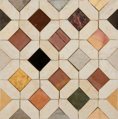 soft warm colors: Moroccan Tiles