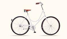 Stålhästen Albino - design damcykel för dig som vill cykla med stil