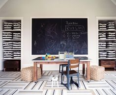 Study Spaces and Playrooms for Kids