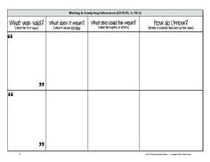 Newly Updated Common Core Reading Graphic Organizers Grades 11-12  (additional pages added to total over 60 handouts)