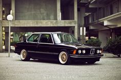 1980 BMW 320i e21 the closest I could get to what mine looked like.  Add black windows and front spoiler.