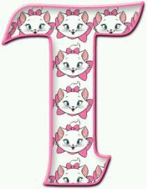 Letter T, Alphabet Letters, Letter Board, Marie Cat, Hi Gorgeous, Gata Marie, Aristocats, Letters And Numbers, Cool Designs
