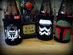 Set of Star Wars Themed Beer Coozies on Etsy, $44.82 CAD