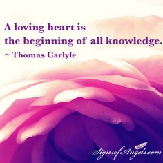 Love is the connection to the wisdom and guidance of the Universe. Open your heart to receive it.