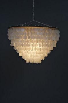 Vintage capiz shell chandelier home accessories pinterest capiz shell chandeliers for the beach house aloadofball Choice Image
