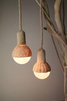Lámparas hechas a mano