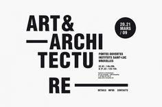 Identity Art & Architecture St Luc Institutes Brussels - Minimalissimo