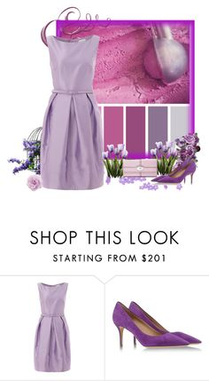 """Purple Ice Cream"" by pink1princess ❤ liked on Polyvore featuring Untold, Salvatore Ferragamo, FOSSIL, women's clothing, women's fashion, women, female, woman, misses and juniors"