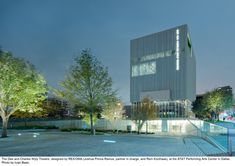 Gallery of Dee and Charles Wyly Theatre / REX + OMA - 8