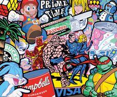 Sofunkylicious: Speedy Graphito...Pop art is alive !