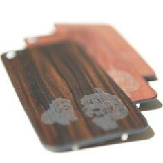 Tech meets traditional materials with these etched wooden iPhone backs