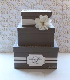 Wedding Card box, Money Card Box, Wishing Well- Custom Made by jamiekimdesigns on Etsy https://www.etsy.com/listing/127325979/wedding-card-box-money-card-box-wishing