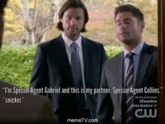 19. One of the writers was having too much fun.  #Supernatural #MemeTV #gifs #DeanWinchester #JensenAckles #SamWinchester #JaredPadalecki