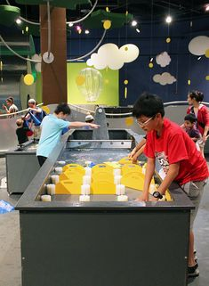 science center water play - Google Search