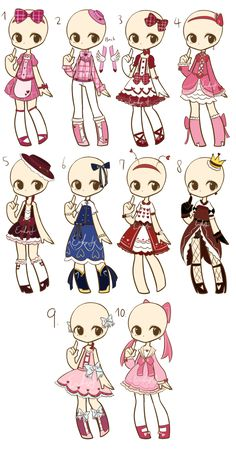 I really like harajuku fashion so kudos goes to those really nicely dresses people u guys give me inspiration <3 100 each Base by: Koru-Ru 1. Caseykinz   2. ShinyChai   3.&nb...