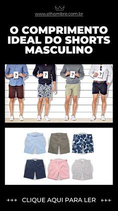 bermuda, shorts, homem, masculina, moda, estilo Bermudas Shorts, Shorts Jeans, Billabong, Tomboy, Movie Posters, Movies, Outfits, Image, Style
