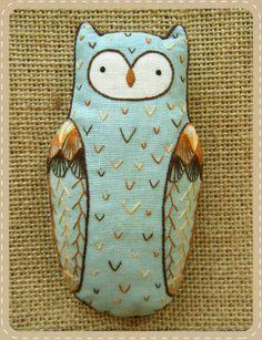 Kirikí Press {Horned Owl D.I.Y. Embroidered Doll Kit}