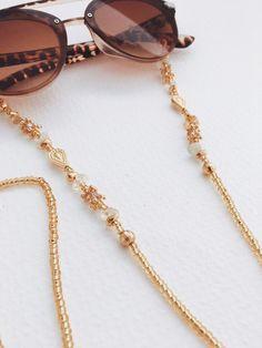 Eyeglass Holder, Imitation Jewelry, Glasses Case, Diy Necklace, Gemstone Jewelry, Eyeglasses, Band, Handmade Jewelry, Gemstones