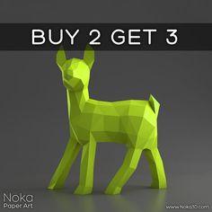 Fawn - Deer Cub - 3D