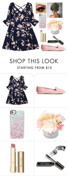"""""""Blossoms"""" by ac-4am on Polyvore featuring Casetify, Stila and Bobbi Brown Cosmetics"""