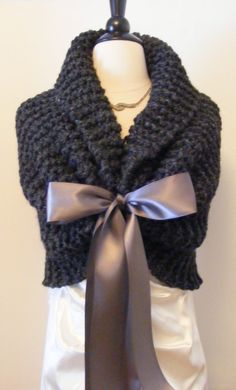 I will custom make this knit shawl for you for your wedding day. This lovely stole is the perfect shawl for your wedding to give you a little