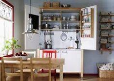 esta es la mi cucina mini, da poner abajo la vitrina horizontale ...