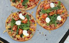Feta, Cupcakes, Ketchup, Vegetable Pizza, Tacos, Healthy Recipes, Healthy Dinners, Healthy Food, Food And Drink