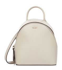 DKNY Mini Bryant Park Backpack Cross Body Bag. #dkny #bags #leather #backpacks #